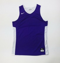 Nike Reversible Basketball Practice Jersey Boy's XL White Purple Mesh 87... - $24.74
