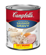 Campbell's Country Style Sausage Gravy 13.8 oz Can - $9.99