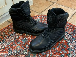 Harley-Davidson Insulate Gore-Tex Black Leather Motorcycle Boot 11.5 M 9... - $121.50