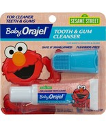 Baby Orajel Elmo Tooth and Gum Cleanser with Finger Brush, Fruity Fun, 0... - $6.99+