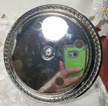 VINTAGE SALT AND PEPPER MAGNETIC TRAY WITH HANDLE METAL image 8