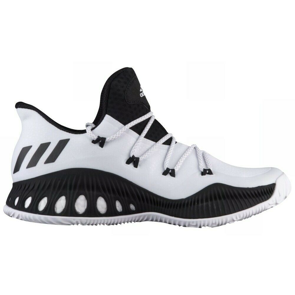 low priced 9be6b f99d6 57. 57. Previous. adidas SM Crazy Explosive Low Basketball Shoes 17 White  Black NBA NCAA BY4272