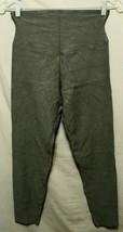 YUMMIE womens pull on stretch Green rayon blend 14% spandex leggings siz... - $11.76