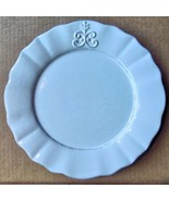 "Bianca Fleur by American Atelier Dinner Plate 10 3/4"" White Retired - $14.00"