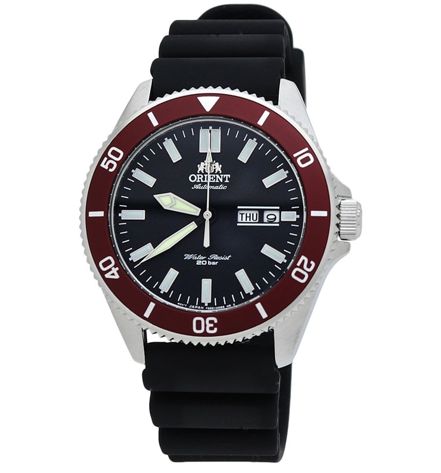 Primary image for Orient Kano Ray III RA-AA0011B Orient automatic divers men's watch rubber band