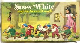 Vintage Snow White and the Seven Dwarfs Board Game Cadaco 1977 COMPLETE image 4