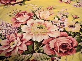16X16 Toss Pillow Cover Sham New Ralph Lauren SOPHIE BROOKE YELLOW FLORA... - $17.99