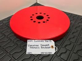 CUMMINS ISX15 DIESEL ENGINE HARMONIC BALANCER VIBRATION DAMPENER 4101884... - $180.50