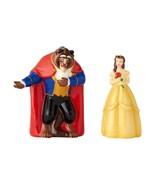 Walt Disney Beauty & the Beast First Dance Ceramic Salt & Pepper Shakers... - $24.18