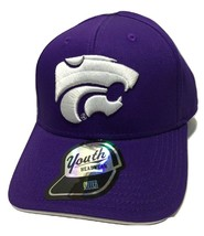 Kansas State Wildcats YOUTH Embroidered Logo Cap Sportswear NCAA Hat Adjustable - $14.54