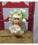 Vtg Mattel Liddle Kiddles  LILY of the VALLEY KOLOGNE  Doll 1960s  No Bo... - $33.65