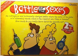 Imagination 2006 Battle Of The Sexes 2nd Edition All New Board Game Complete - $18.07