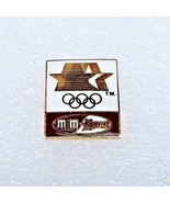 "1984 Los Angeles Olympics LAOOC Sponsor Pin ""M&M Mars/Stars in Motion"" - $8.90"