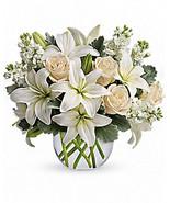 Teleflora Glas Bubble Vase - 11R400  - NEW - - $11.87