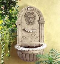 32428 SHIPS FREE Cascading Fountains Wall Lion Head Fountain - $102.35