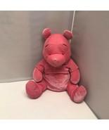 Disney Store Winnie The Pooh Velvet Pink Pooh Bear Soft Plush Stuffed An... - $49.99