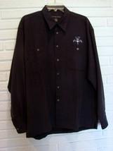 COTTON REEL Size Large Ultra Suede FLORIDA PANTHERS  Men's Shirt - $49.49