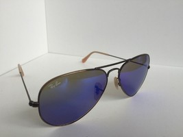Ray-Ban RB 3025 RB3025 167/68 58mm Sunglasses Aviator Large Metal Blue Italy - $92.23