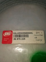 36876225 INGERSOLL RAND CONTROL Cable 4.8Diax5460Mmlong GENUINE OEM PORT... - $67.50