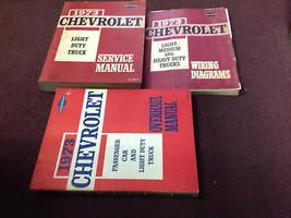 1973 Chevy Light Duty Truck Models 10-30 Series Service Shop Manual Set ... - $98.95