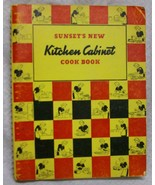 Sunset New Kitchen Cabinet Cookbook - $34.30