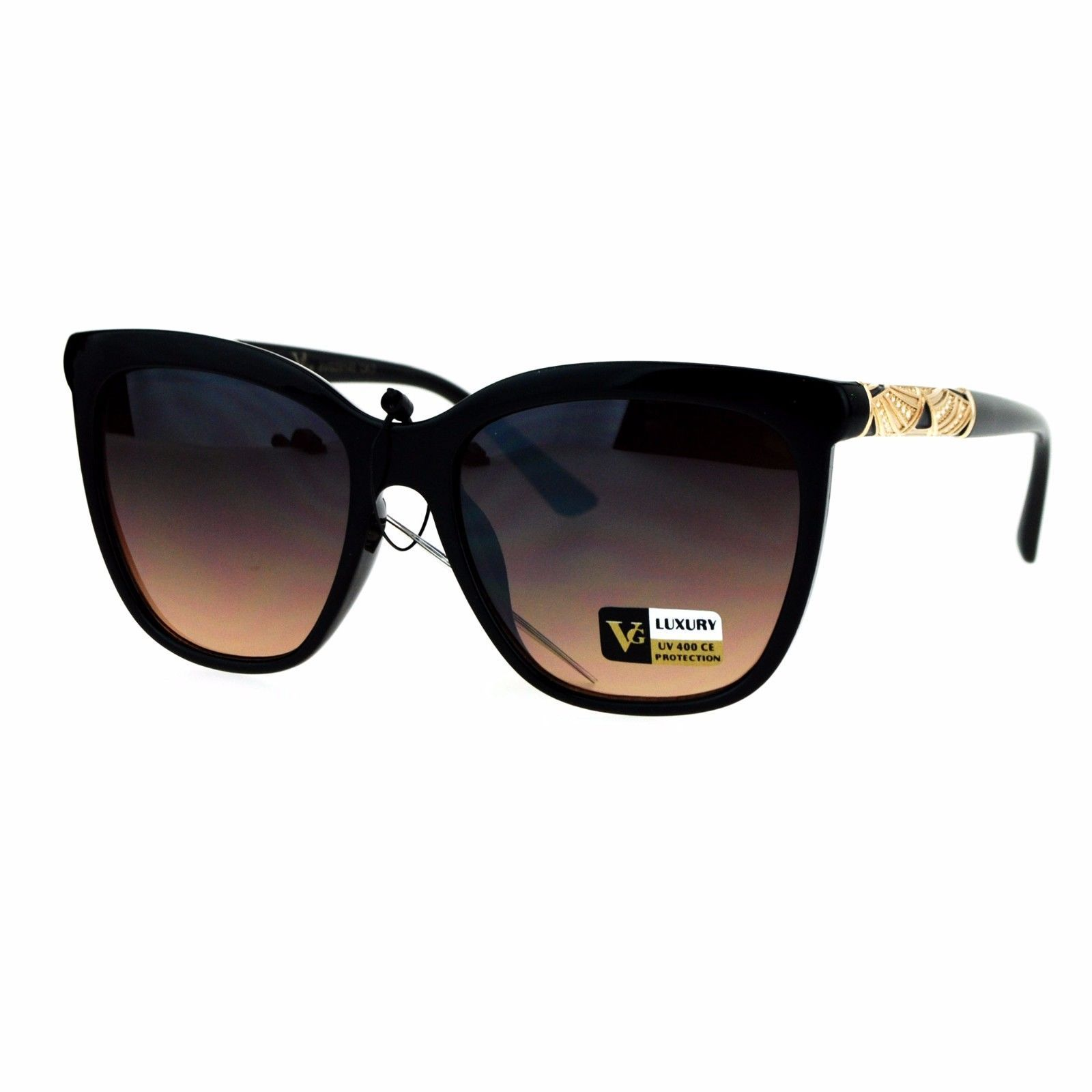 Womens Luxury Fashion Sunglasses Stylish Square Frame UV 400