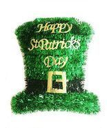St. Patricks Day Tinsel Hat Wall Decoration Party Nice Wreath Door TOP Q... - $28.30 CAD