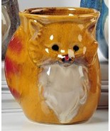 Ceramic Right or Left Hand Warmer Mug in Various Animal Designs Cat, Rig... - $16.79