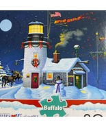 Buffalo Games Wysocki Take Fuera Ventana Navidad Grande Formato 300 Piez... - $8.81