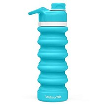 Valourgo BPAFree Collapsible Water Bottle - Reusable Water Bottle for Gy... - $483,86 MXN