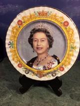 QUEEN ELIZABETH II GOLDEN JUBILEE (1952 - 2002) COMMEMORATIVE PORCELAIN ... - £16.55 GBP