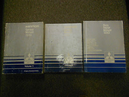 1990 Mitsubishi Mirage Service Repair Shop Manual 3 Vol Set Factory Feo Book 90 - $35.59