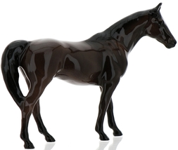 "Hagen-Renaker Miniature Ceramic Horse Figurine Thoroughbred ""Citation"" image 3"