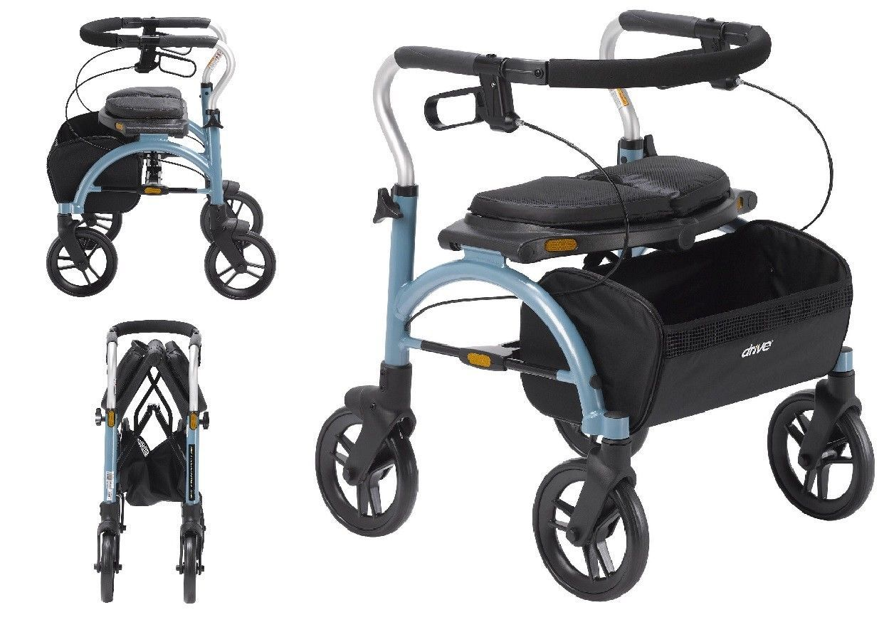 Primary image for Mobility Medical Arc Lite Rollator Walker Basket Stability Highly Transportable