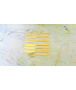 Pieces GOLD PLATED FLATWARE ROYAL HOUSEHOLD JAPAN ROSES PATTERN - $9.49