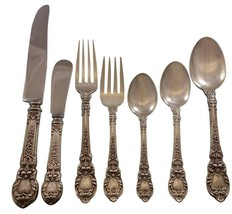 Charles II by Lunt Sterling Silver Flatware Service for 8 Set 62 Pieces ... - $4,750.00