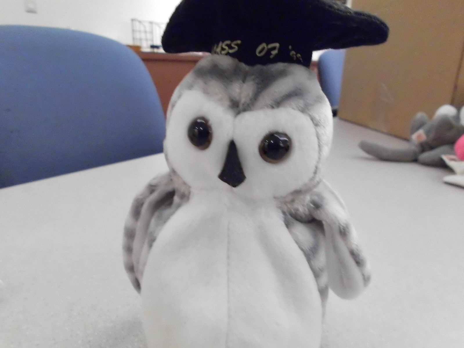 Ty Beanie Babies Wiser the Owl no swingtag image 3