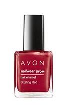 "Avon Nailwear Pro+ Nail Enamel ""Sizzling Red"" - $4.25"