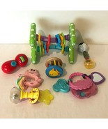 Baby Toys Activity Ball Toy Rattle Teether Developmental Play Links Stro... - $19.99