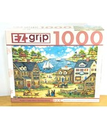 Bonnie White EZ Grip Puzzle 1000 Pc Mr Wiggins Whirligigs Master Pieces New - $21.99