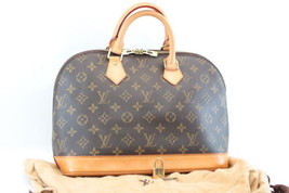 Louis Vuitton Monogram Alma Hand Bag M51130 Lv Auth 8067 - $498.00