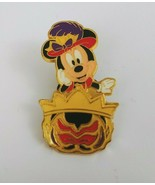 Tokyo Disney Sea Game Prize Pin Mickey Mouse Mask Hat Costume Traing Pin - $12.19