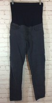 Denim Diva Womens Maternity Jeans Size Small Inseam 27 Faded Black Stret... - $18.99