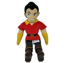 "21"" Disney Store Gaston Villain Beauty & Beast Boy Stuffed Animal Plush Toy Doll - $64.52"