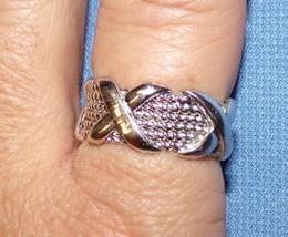 Tiffany & Co Signatur X Ring 9 Breiter Schmuck Sterling Silber 925 - $180.15