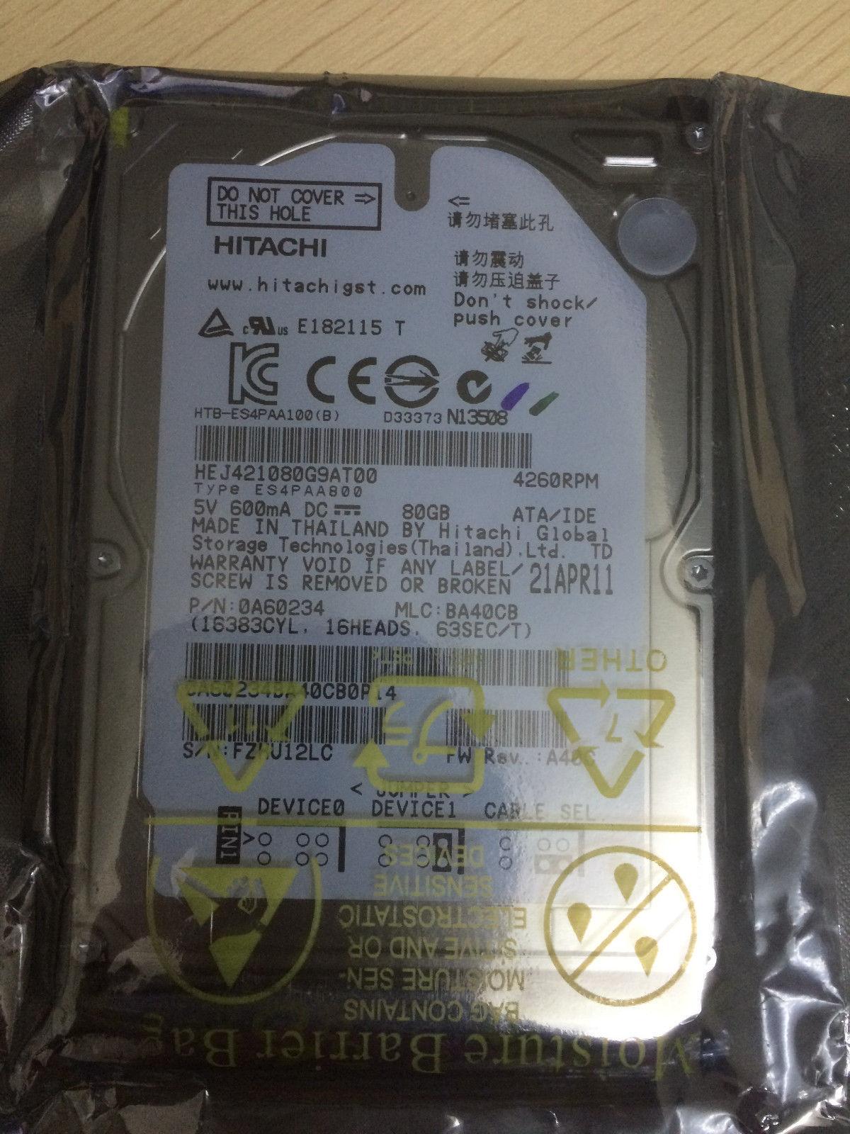 Hgst Endurastar J4k100 Hej421080g9at00 80gb And 46 Similar Items Hardisk Internal 25 120gb Toshiba Hitachi S L1600