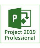 Microsoft Project 2019 Professional 32/64 Bit Key & Download - $9.90