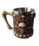 Panda Legends Fashion Tea Mug Cup Cool Fantasy Skull Beer Stein Tankard ... - $30.27