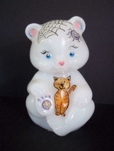 Fenton Glass Halloween Cats Candy Corn Pumpkin Bear Figurine FAGCA Ltd E... - $174.12
