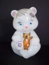 Fenton Glass Halloween Cats Candy Corn Pumpkin Bear Figurine FAGCA Ltd E... - $174.12
